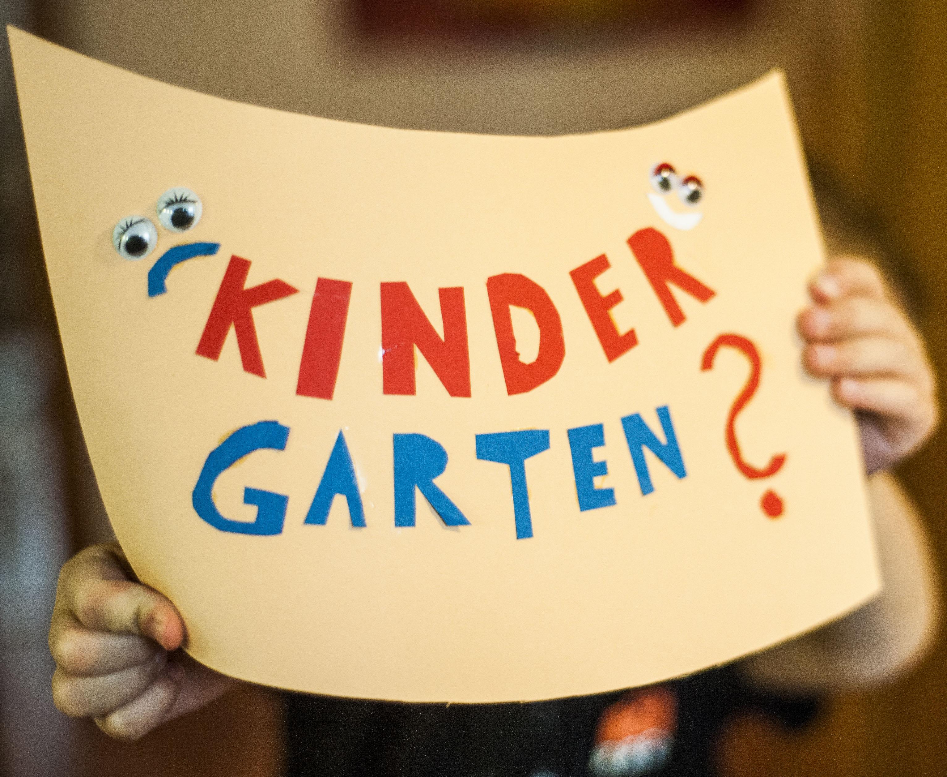 Kindergartenanmeldung steht bevor: warum bin ICH nervös?