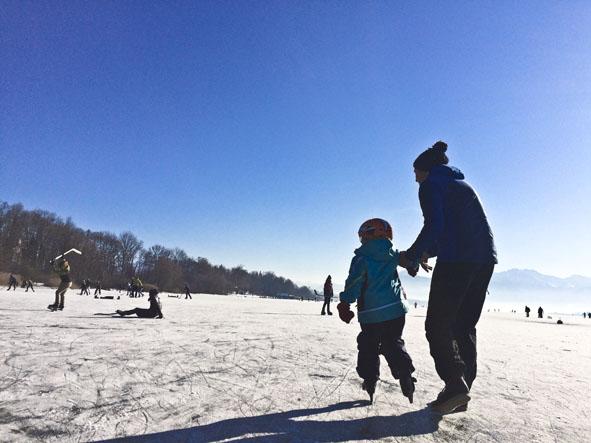 Eislaufen_Chiemsee